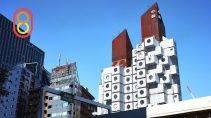 Капсульный жилой дом в Токио (Япония)