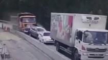Момент аварии в Челябинской области попал на видео
