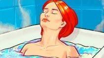 Сбрасываем вес принимая горячие ванны