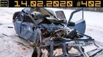 #1 Новые аварии за 14 февраля 2020