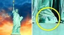 Знаменитая статуя свободы и ее секретные места
