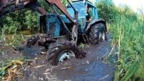 В грязь на Советских тракторах Т-150, К-700, МТЗ-82, ДТ-75