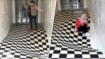 Оптическая иллюзия которая шокирует любого