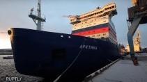 Самый большой ледокол в мире «Арктика» вошел в состав флота России