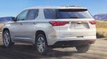 Chevrolet Traverse 2022 Обзор интерьера и экстерьера