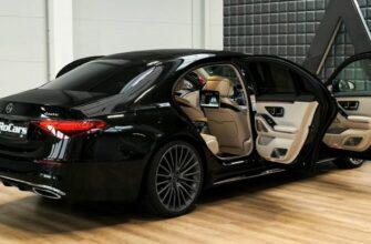Mercedes S-Class Long 2021 года - Интерьер и экстерьер в деталях