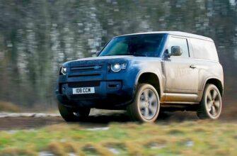 Land Rover Defender V8 2022 года - Очень мощный внедорожник