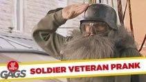 Парашутист ветеран из прошлого