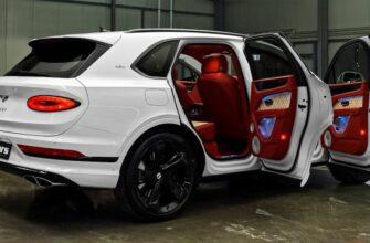 2021 Bentley Bentayga - Роскошный внедорожник в деталях