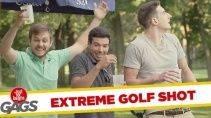 Розыгрыш - Экстремальный гольф