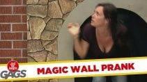 Розыгрыш с волшебной дверью
