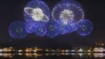 В Токио показали фейерверк подготовленный для Олимпиады 2020