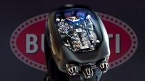 Часы Bugatti Chiron Tourbillon - настоящий двигатель W16 в часах
