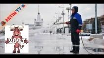 Как делают главный каток России - ВДНХ 2021?