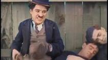 Charlie Chaplin чемпион - Цветная версия