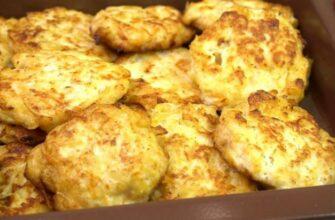 Куриный фарш и картофель и вкусный обед для всей семьи готов