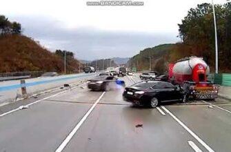 Странный случай на проезжей части с автомобилями