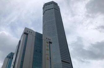 В Китае зашатался 73-этажный небоскреб высотой 300 метров