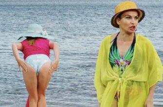 Смешные приколы на пляже с молодыми парами