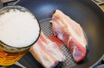 Свиная грудинка варим в пиве, пальчики оближешь