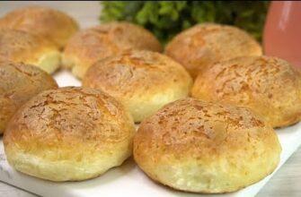 Творожные булочки к завтраку, воздушные и вкусные