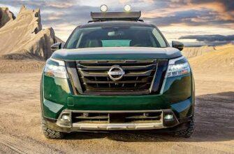 Nissan Pathfinder 2022 года / Особенности и детали внедорожника