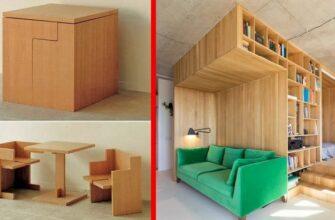 Гениальная мебель-трансформер для экономии места