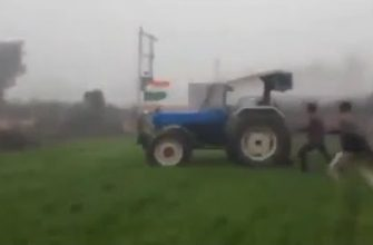 Испытание нового трактора пошло не по плану