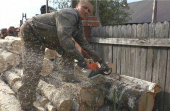 Как наточить цепь для бензопилы, совет от крутого лесоруба