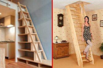 Креативные идеи для маленькой квартиры / Компактная мебель