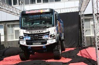 КАМАЗ представил новый спортивный болид КАМАЗ-мастер К5