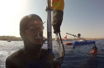 Свободное погружение на 145 метров, новый мировой рекорд