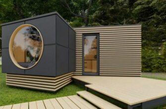 Самые маленькие дома с идеями экономии места