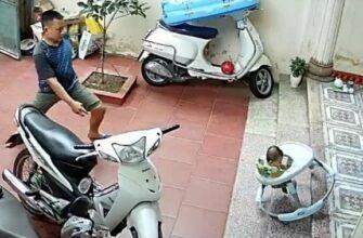 Спас жизнь малышу в самый последний момент
