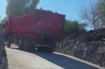 Большая ошибка водителя грузовика