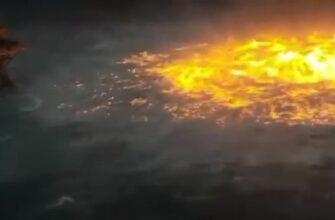 Разрыва газопровода в Мексиканском заливе 03.07.2021