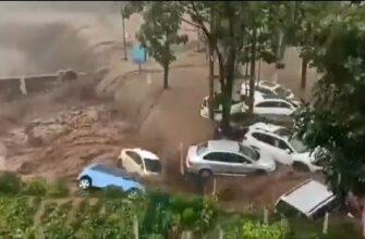 Наводнение в Китае и его последствия