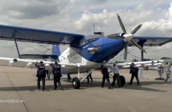 Новый кукурузник Ан-2МС с 9-ю моторами на МАКС 2021