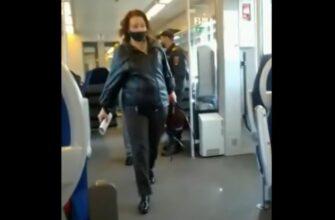 Полицейские пожалели что подошли к этой женщине