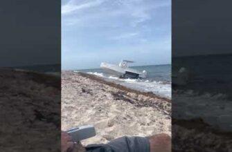 Как правильно парковать свою лодку на пляже?
