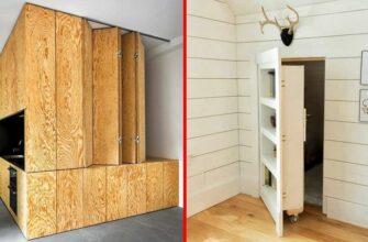 Потайные комнаты и скрытые ящики в доме