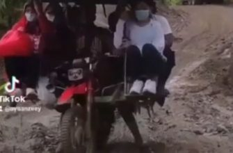 Уникальный транспорт в Индонезии которого больше нет нигде