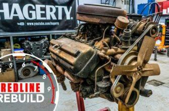 Восстановление двигателя V8 Хеми за 5 минут в ускоренной съемке