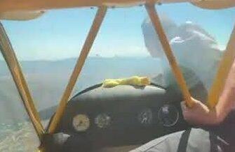 Что делать если у самолета остановился двигатель?