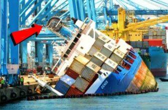 Аварии с кораблями которые не успели затормозить
