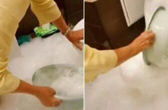 Что будет если смыть 2 пузырька пены для ванны
