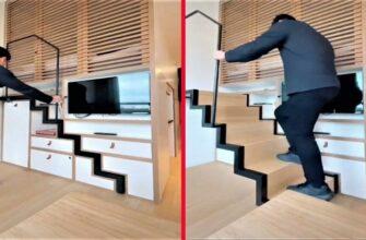 Современная мебель-трансформер для экономии места