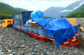 Топ 10 грузовиков преодолевающих водные препятствия