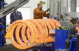 Как делают гигантские металлические пружины