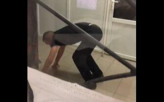 Неудачная попытка побега задержанного из полицейского участка